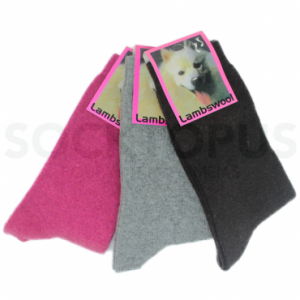 Meias Coloridas Lambswool Mulher