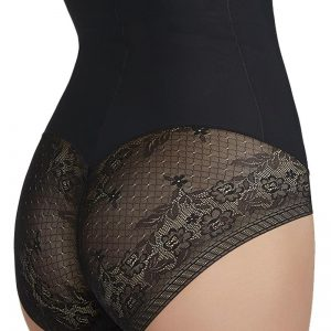 Redutores | Cueca High Waist Shaping Com Renda