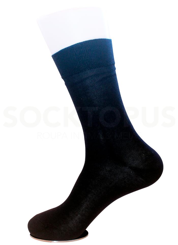 Socktopus - Roupa Íntima & Meias - Meias 100 Algodão Sem Costura